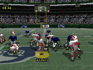 Screenshot Thumbnail / Media File 1 for NFL Gameday [NTSC-U]